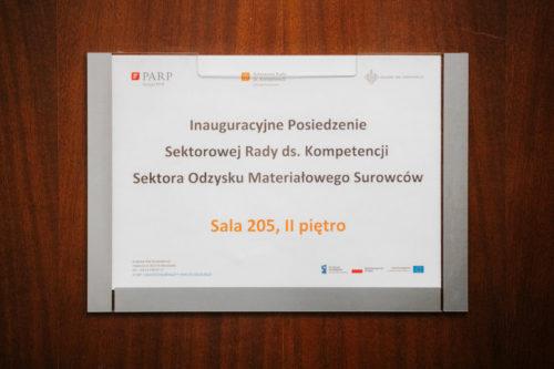 Posiedzenie Sektorowej Rady ds. Kompetencji Sektora Odzysku Materiałowego Surowców 2020-02-12 - 001